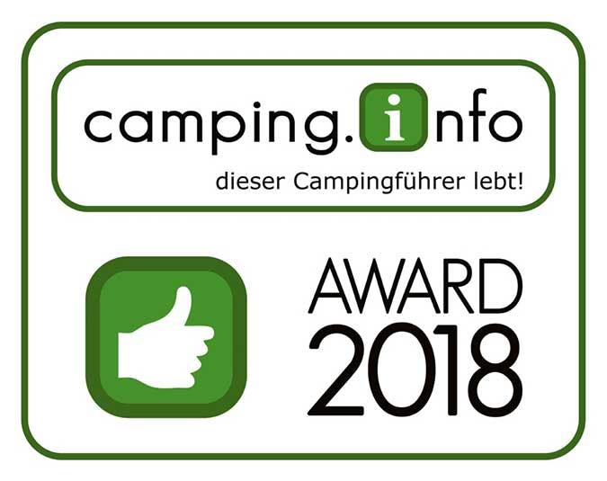 Camping Award 2018